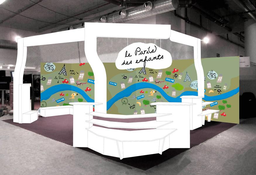 Salon de montreuil stand mairie de paris kakidesign for Mairie menetou salon